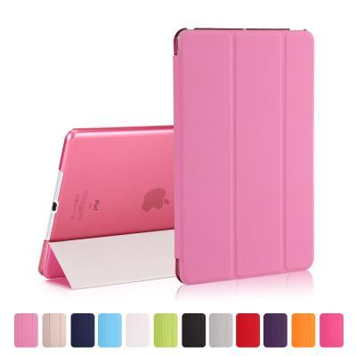 Tri-fold fodral till iPad 9.7 2017. Rosa