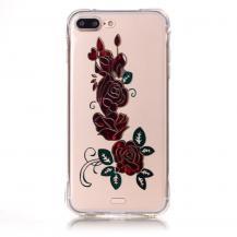 A-One BrandTPU Mobilskal till iPhone 7 Plus - Röda Rosor