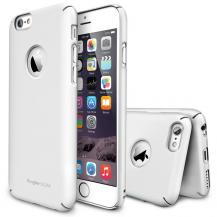 RearthRingke Logo-Cut Slim Dual Coated Skal till Apple iPhone 6 / 6S (Vit)