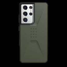 UAGUAG Samsung Galaxy S21 Ultra Civil-Fodral Oliv