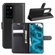 OEMLitchi Plånboksfodral till Huawei P40 Pro - Svart
