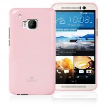 MercuryMercury Jelly Flexicase Skal till HTC One M9 - Rosa