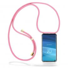 CoveredGear-NecklaceCoveredGear Necklace Case Samsung Galaxy S10 - Pink Cord