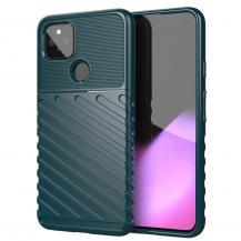 OEMThunder Twill Mobilskal Google Pixel 5 - Grön