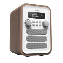 OEMFM/DAB+ Radio Bluetooth Trä/Vit