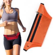 HurtelUltimate löpar bälte med hörlur utag orange