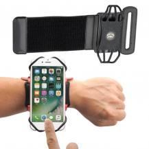"HurtelUniversal löpar Forearm Armband6"" Smartphones Svart"