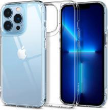 SpigenSpigen Quartz Hybrid iPhone 13 Pro - Crystal Clear