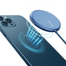 BASEUSBaseus Magsafe iPhone Trådlös Laddarre - Blå