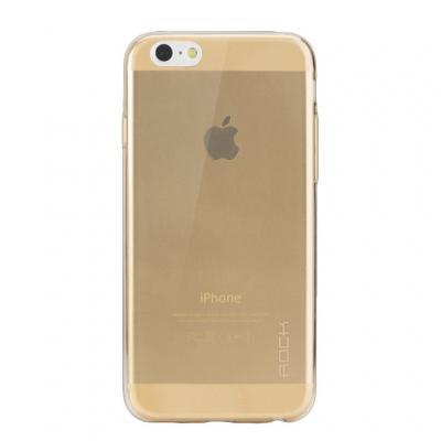 ROCK 0,8mm Ultrathin FlexiCase skal till Apple iPhone 6 / 6S (Gold)