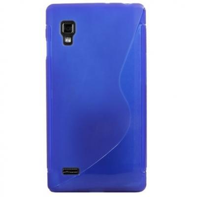 FlexiCase Skal till LG Optimus L9 - P760 - (Blå)