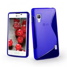 A-One BrandFlexiCase Skal till LG Optimus L5 II - E460 - (Blå)