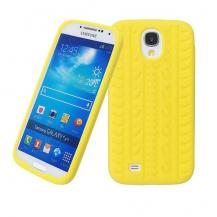 OEMTyre Silikonskal till Samsung Galaxy S4 i9500 (Gul)