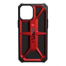 UAGUAG iPhone 12 Pro Max, Monarch Cover, Crimson