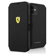 FerrariFerrari Plånboksfodral iPhone 12 mini On Track Perforated - Svart