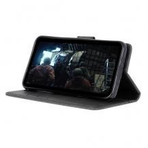A-One BrandPlånboksfodral Matte till Sony Xperia 10 Plus - Svart