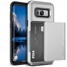 VERUSVerus Damda Glide Card Slot Skal till Samsung Galaxy S8 Plus - Silver