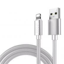 Boom of SwedenBoom of Sweden - Nylon USB till Lightning Kabel, 2.1A, 2M - Vit