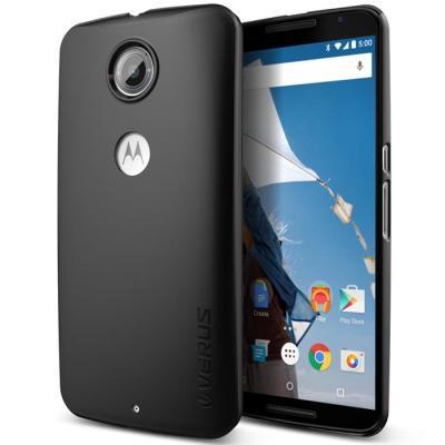 Verus Super Slim Baksideskal Skal till Google Nexus 6 - Svart