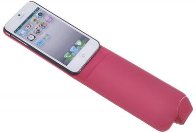 Flip mobilväska till Apple iPhone 5/5S/SE (Magenta)