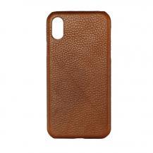 GEAROnsala Collection mobilskal av äkta läder till iPhone XS/ X - Brun