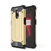 OEMHybrid Armor Mobilskal till OnePlus 6T - Gold