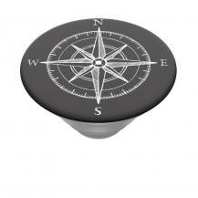 PopSocketsPOPSOCKETS Compass Avtagbart Grip med Ställfunktion