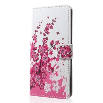 Plånboksfodral till Sony Xperia XZ2 - Summer Rosa