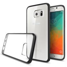 SpigenSPIGEN Ultra Hybrid Skal till Samsung Galaxy S6 Edge Plus - Svart