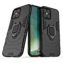 Hybrid Ring Mobilskal iPhone 12 Pro Max - Svart