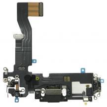 iPhone 12 Pro Laddkontakt med Flex - Svart