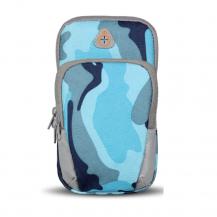 FlovemeFloveme Camouflage universal sportarmbands-väska - Blå