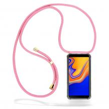 CoveredGear-NecklaceCoveredGear Necklace Case Samsung Galaxy J4 Plus - Pink Cord