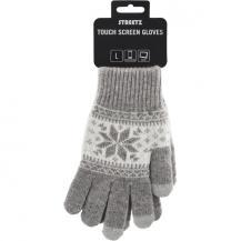 DeltacoFingervantar för touchskärmar, storlek L, grå