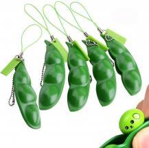 Fidget ToysGreen beans - Fidget Toy - Fidgetbönor leksak