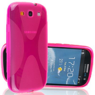 FlexiCase Skal till Samsung Galaxy S3 i9300 (Rosa)