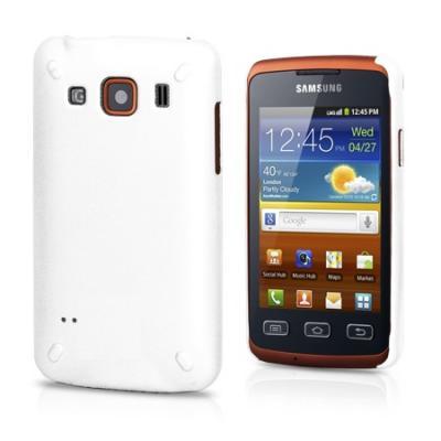 Baksideskal till Samsung Galaxy Xcover S5690 (Vit)