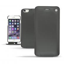 NoreveNoreve Flipfodral av äkta läder, Apple iPhone 6(S) Plus - Svart