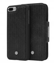 MarvêlleMarvêlle N°307 Plånboksfodral iPhone 7/8 Plus - MIDNIGHT BLACK SIGN