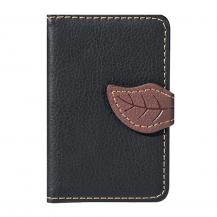 OEMLeaf kreditkortshållare för smartphones - Svart