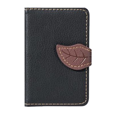Leaf kreditkortshållare för smartphones - Svart