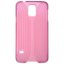 BASEUSBASEUS Seashell Skal till Samsung Galaxy S5 - Magenta