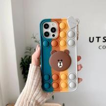 Fidget ToysPop it Fidget Skal iPhone 7/8/SE 2020 - Beer