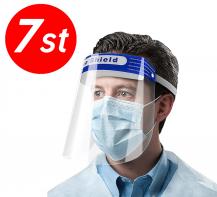 7-PACK - Skyddsvisir / Visir / Munskydd / Ansiktsskydd
