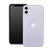 PuroPuro - Nude Skal iPhone 12 Mini - Transparent