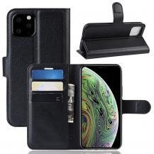 OEMLitchi Plånboksfodral till iPhone 11 - Svart