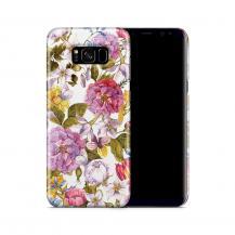 Skal till Samsung Galaxy S8 Plus - Hortensia - Vit
