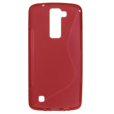 S-Line Skal till LG K8 - Röd