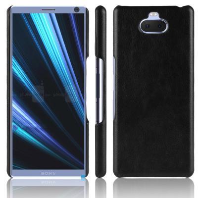 Litchi Mobilskal till Sony Xperia 10 - Svart