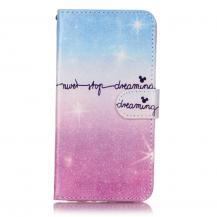 OEMPlånboksfodral till iPhone 7/8 Plus - Never Stop